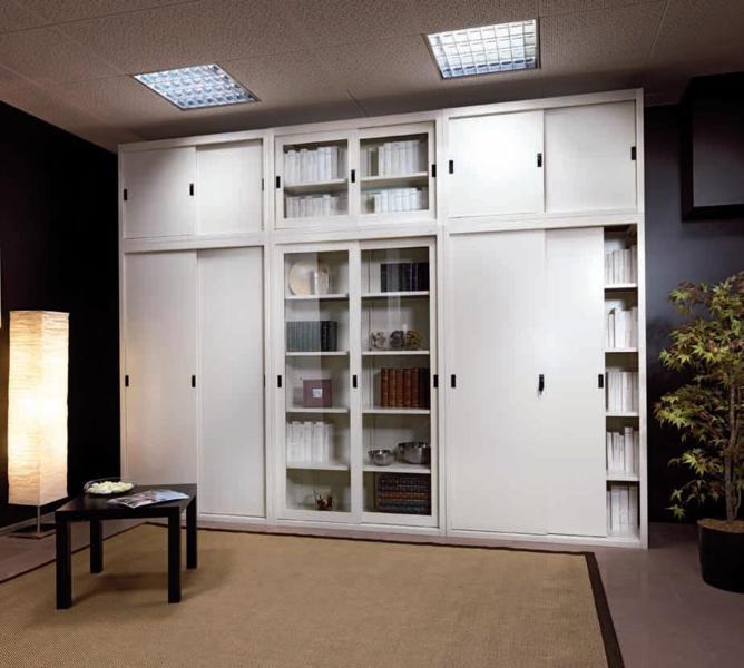 Libreria In Cartongesso Con Ante Scorrevoli.Armadi In Metallo Vacondio